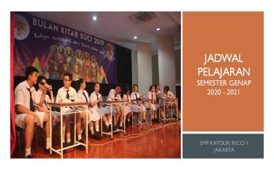 JADWAL PJJ, JUMAT 30 APRIL 2021