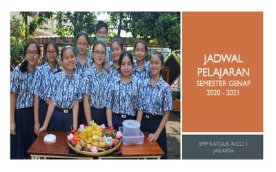 JADWAL PJJ, JUMAT 23 APRIL 2021